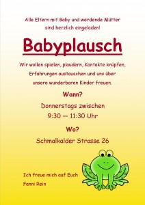 Babyplausch
